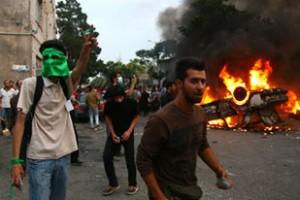 Violent post election protests in Iran {Aljazeera-AFP}