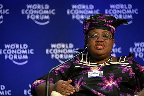 Ngozi Okonjo-Iweala, Managing Director, World Bank {img: World Economic Forum swiss-image.ch/Photo by Remy Steinegger }