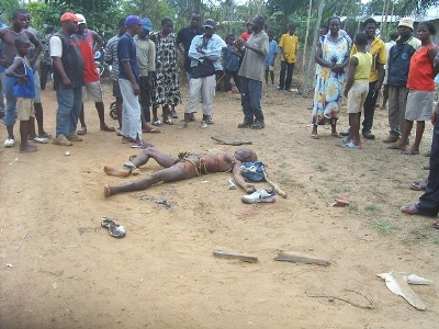 Tabi killed by Mobs in Cameroon. He might just not be a thief