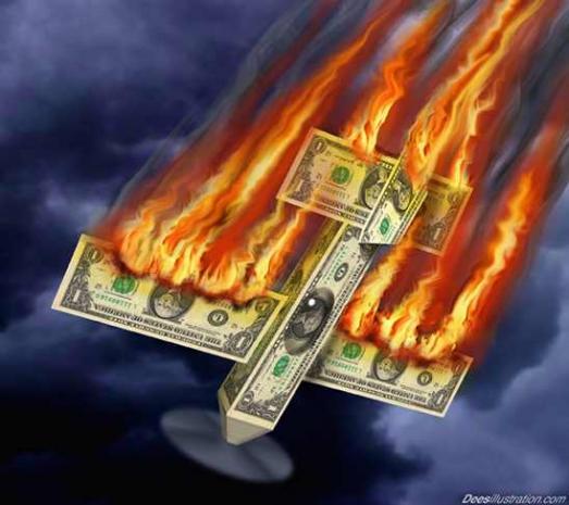 Dollar crashes {freedomsphoenix}