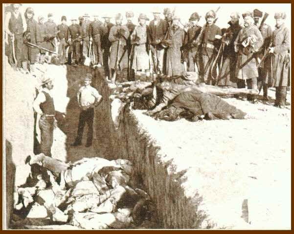 Wounded Knee Massacre grave