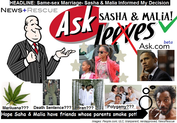 Does Barack Obama support same-sex marriage - Answers
