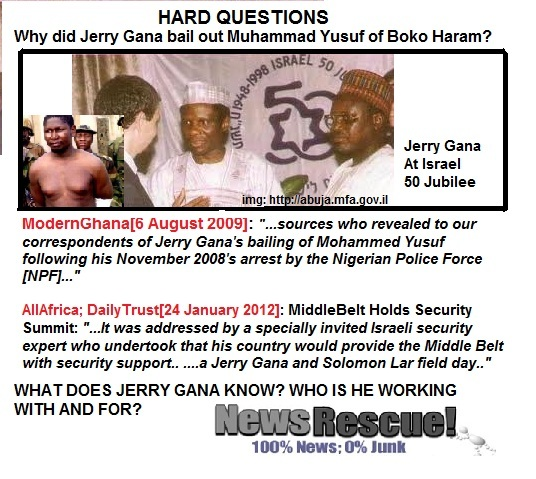 what does jerry gana know