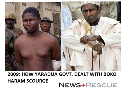 how yaradua dealt with boko