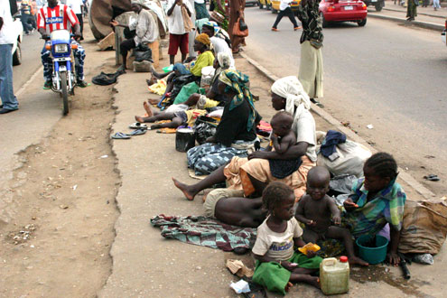 poverty beggars