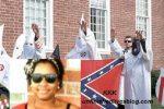 kkk-confed-flag-black woman