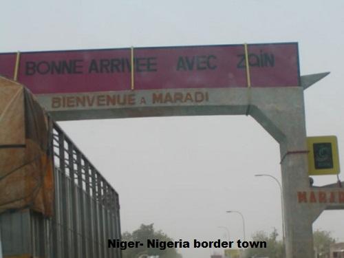 niger nigeria border