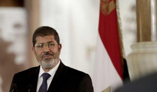 Mohammed Morsi, elected president in detention