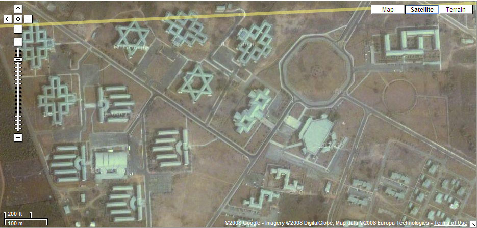 Oyedepos Covenant Uni Google Maps Illuminati Occult Symbols Any