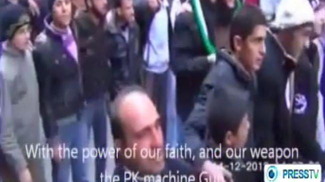syria praise alqaeda