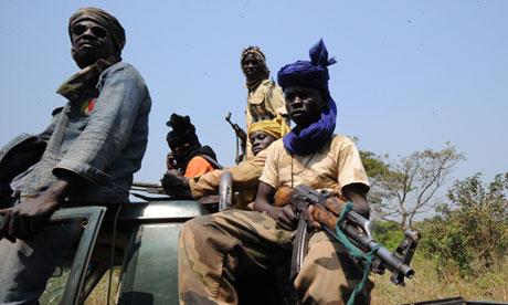 Seleka rebels in Central African Republic
