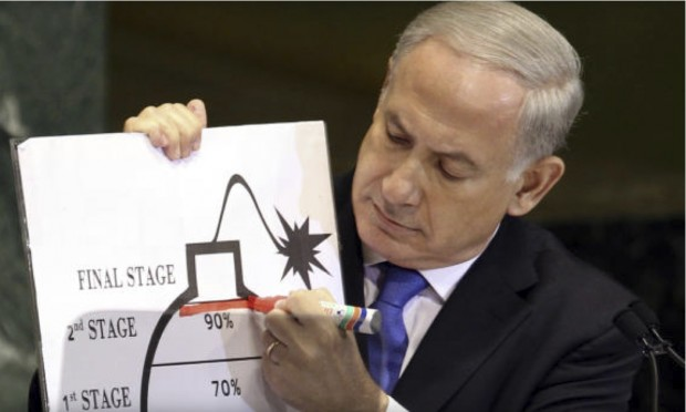 netanyahu-red-line