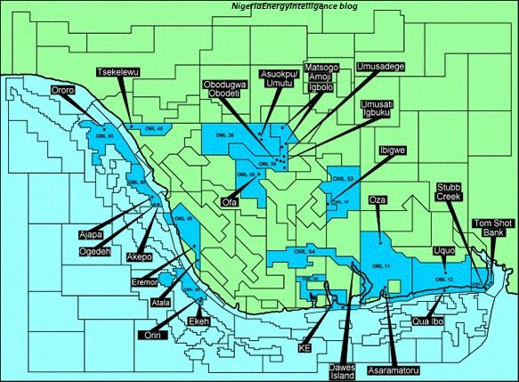 nigeria oil blocks