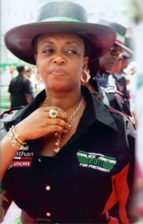 Diezani Allison, minister of petroleum