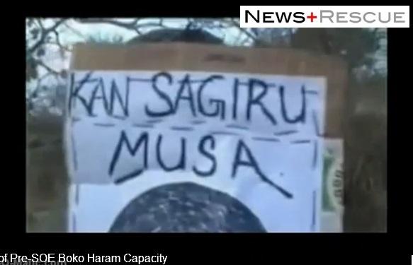 Sagir Musa's head used as target practice by Boko Haram