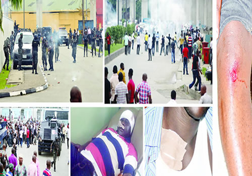 The Sad Event In Port Harcourt In Pictures
