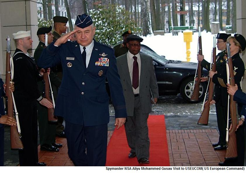 Gusau is rewarded with his much sought for visit to US European Command