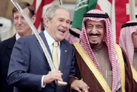bush family relationship with saudi arabia
