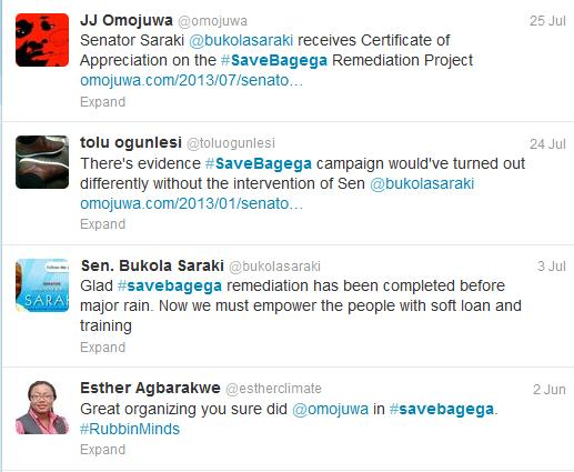 #SaveBagega