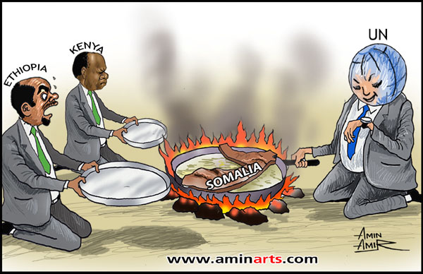 Ethiopia and Kenya's invasion of Somalia