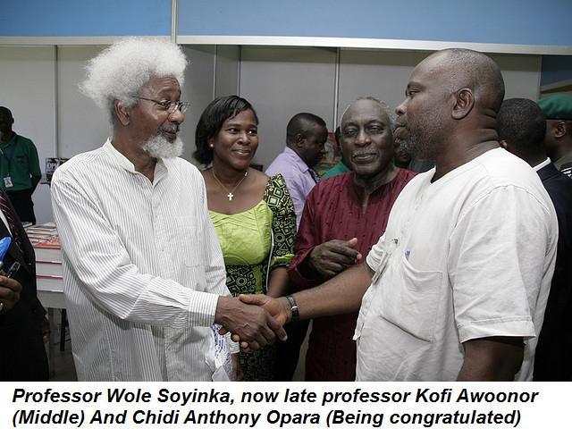 Professors Wole Soyinka And Kofi A