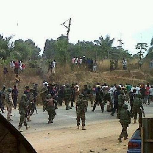 Ombatse crises earlier this year