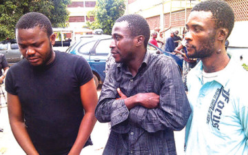Suspects lagos kidnap