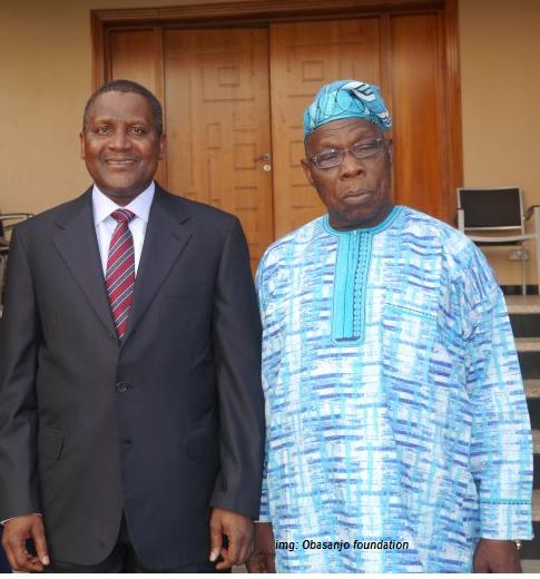 The Cabal: Dangote And Obasanjo