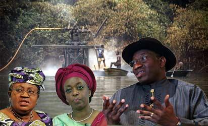 Jonathan-Diezani-Okonjo-Iweala