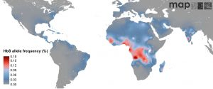 Sickle cell anemia world map geneticliteracyproject.org