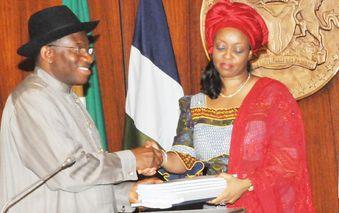 President-goodluck-Jonathan-and-Deziani-Alison-madueke