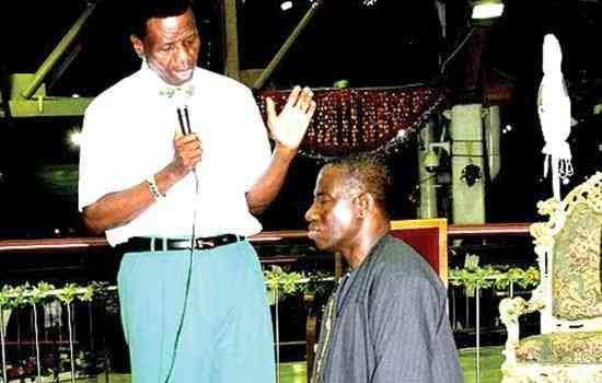 Praying for Nigeria's president Goodluck Jonathan, described as clueless