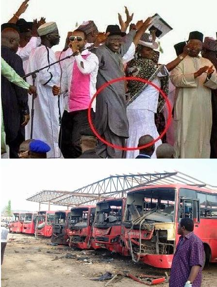 President Jonathan went dancing at a campaign rally, the day of the abduction which was also the day after Nyanya terrorist bombing that claimed 72 lives in the nation's capital, ABuja