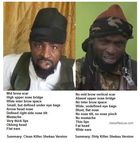 Boko Haram leader, Shekau is believed to be dead with several imposters faking him in recent videos