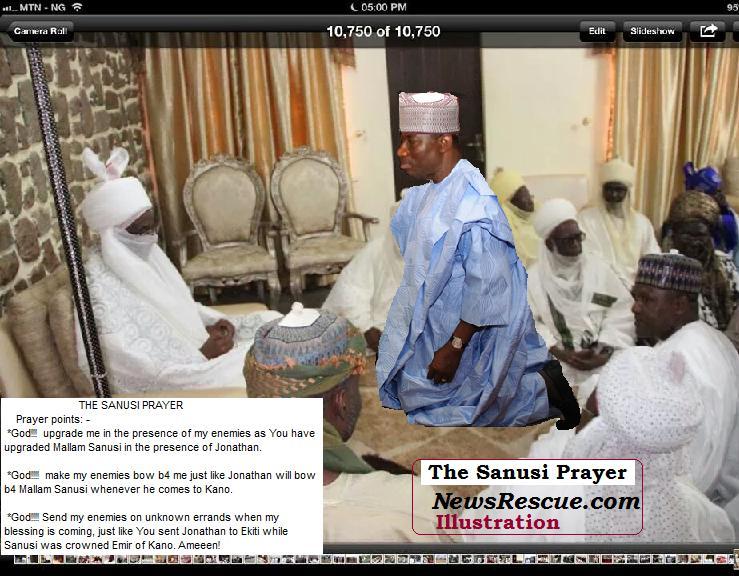 sanusi prayer