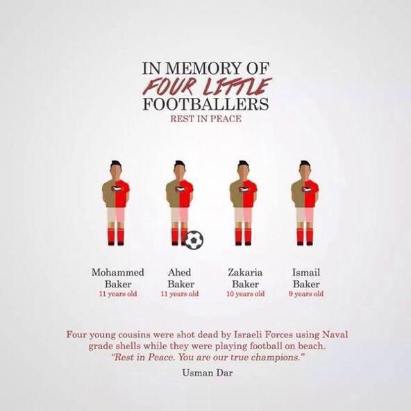 4 footballers paletsine israel