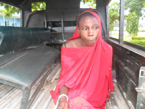 Innocent cross-dresser arrested by Nigerian SSS and presented as mastermind