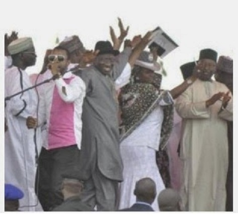 President Jonathan dances as Nigerians die from terror attacks across the country