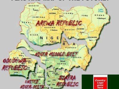 disintegrate nigeria