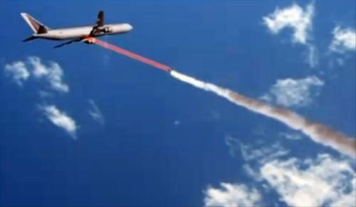 malaysian plane shot