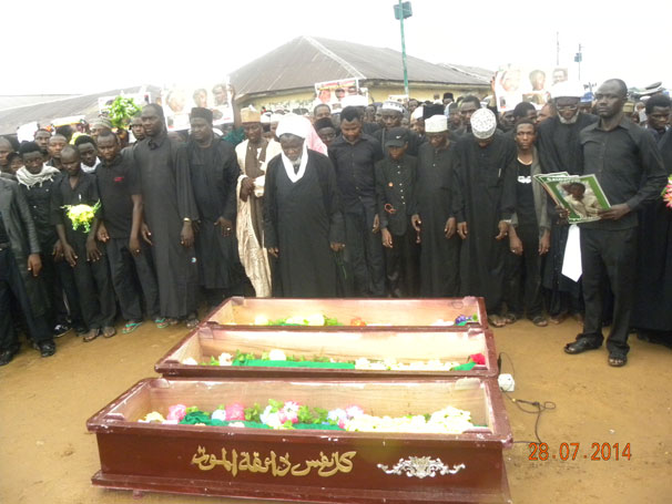 Three sons, 32 others killed by Nigerian military onslaught on peaceful Muslim protesters in Kaduna