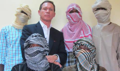Stephen Davis with Boko Haram