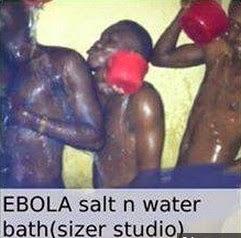 EBOLA bathing