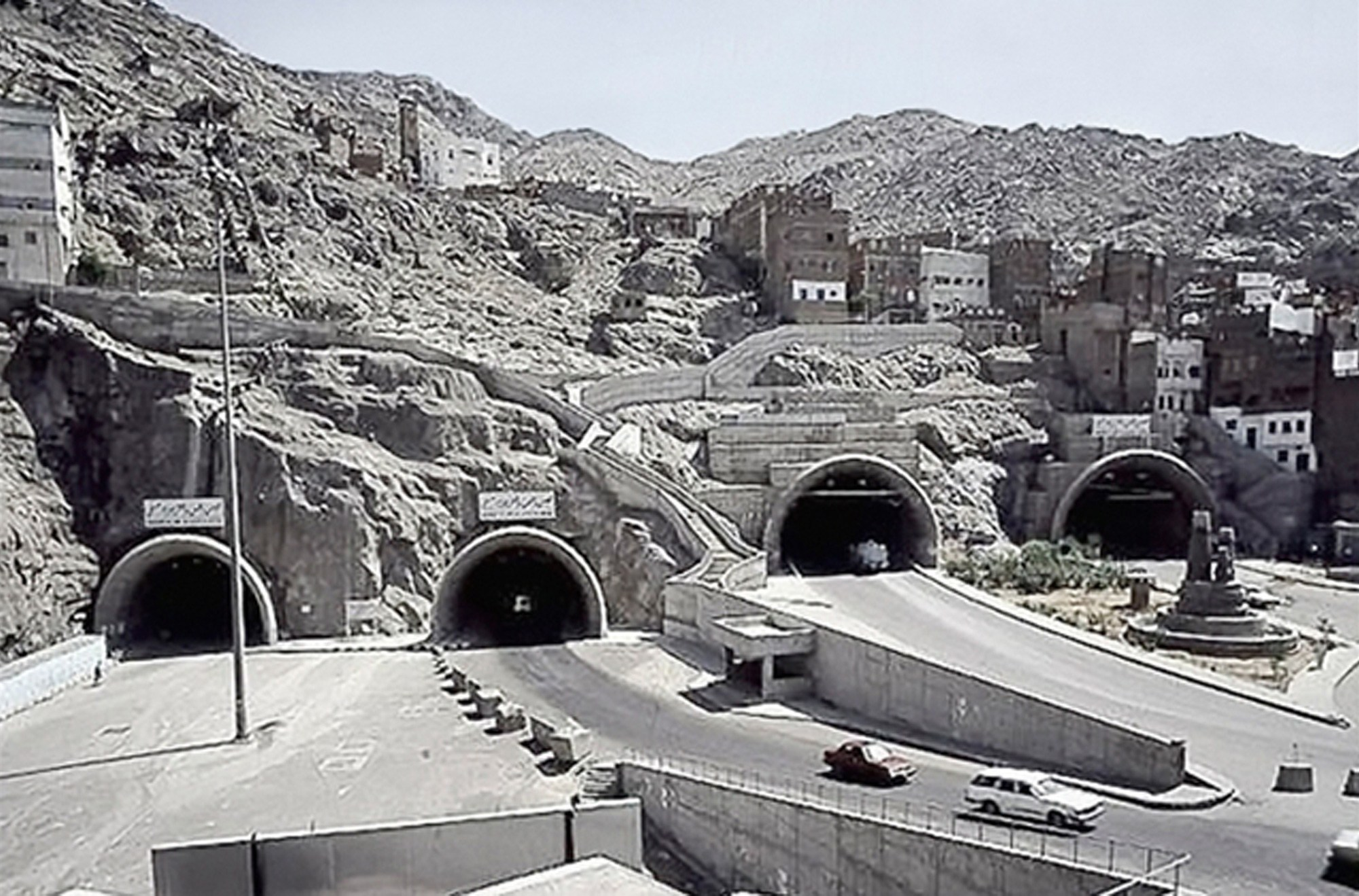 Tunnels in Mecca
