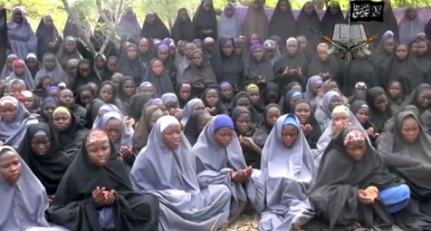 The-250-girls-are-being-held-by-Islamic-group-Boko-Haram-after-they-were-abducted-from-Chibok-in-north-eastern-Nigeria