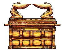 Jewish artistic representation of the Ark of covenant