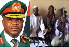 Nigerian army chief, general Azubuike Ihejirika named as sponsor of Boko Haram terrorist organisation
