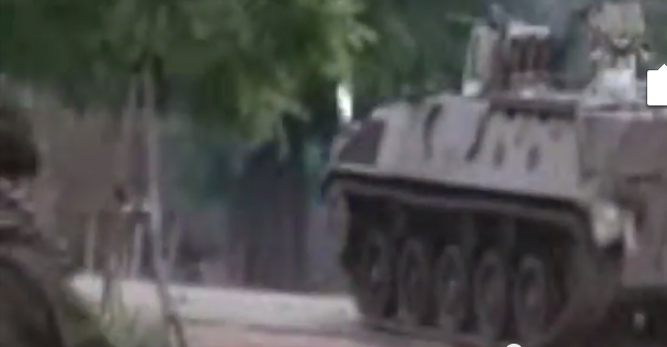 Boko Haram drives tanks received from the Nigerian army