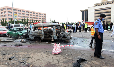 Abuja Eagle square MEND bombing