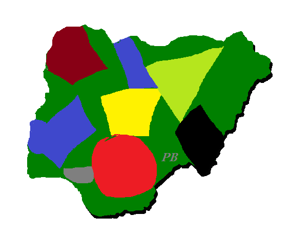 nigeria-map-colors
